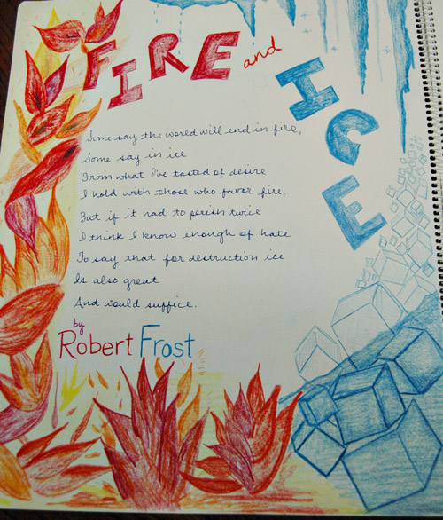 analytical essay fire and ice by robert frost writework robert frost fire and ice essay