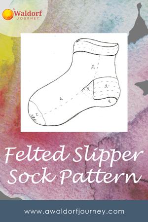 Waldorf grade five sock pattern