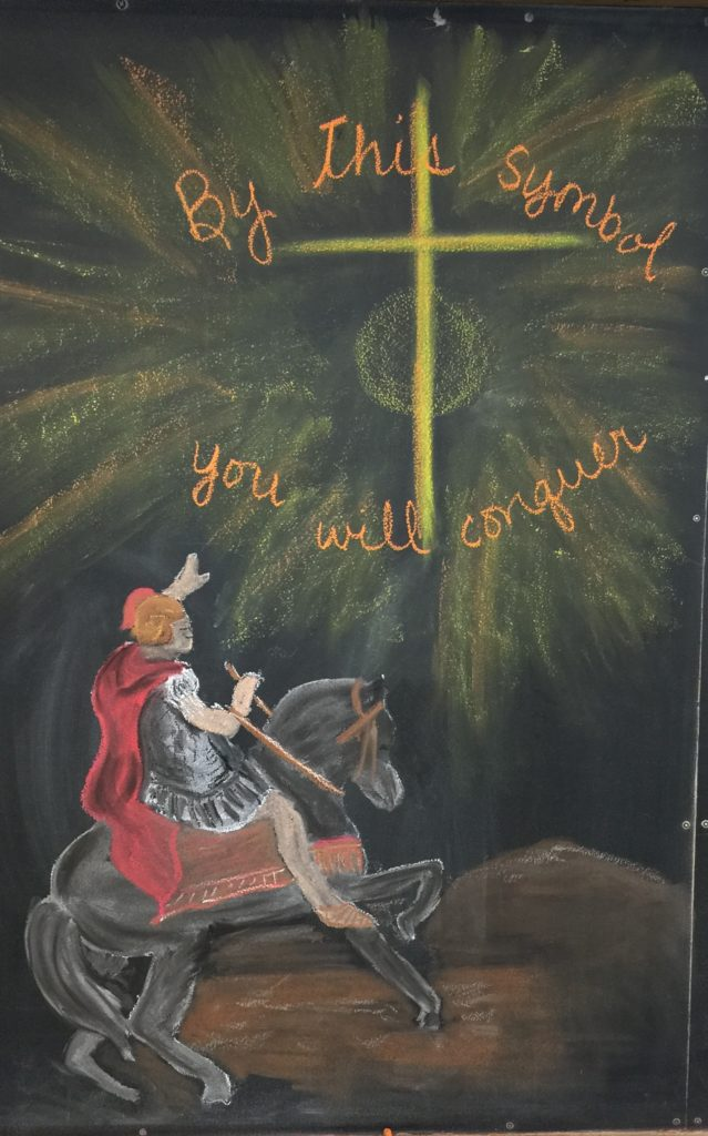constantine waldorf chalkboard