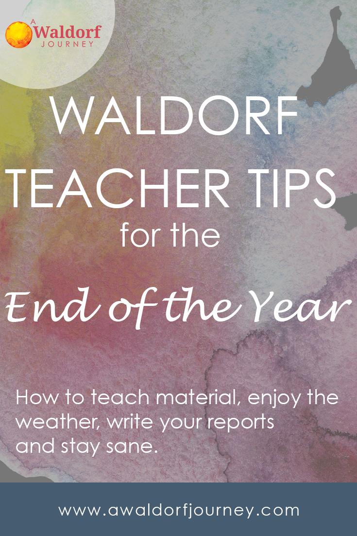 waldorf teacher tips