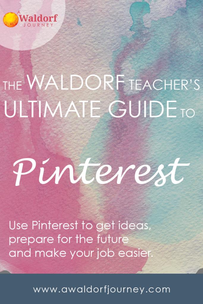 Pinterest for Waldorf Teachers