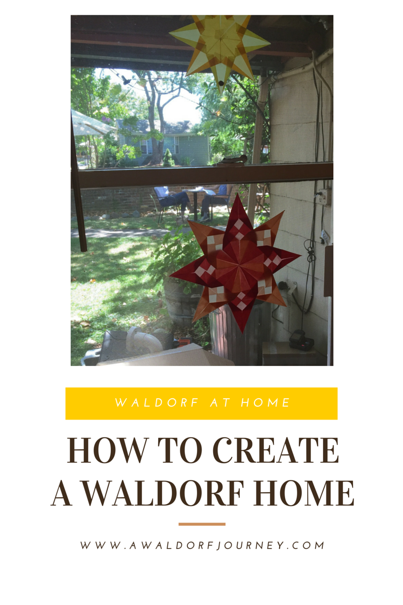 How to create a waldorf home a waldorf journey for Waldorf at home