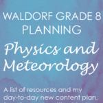 waldorf physics meteorology