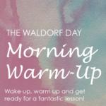 waldorf warm up