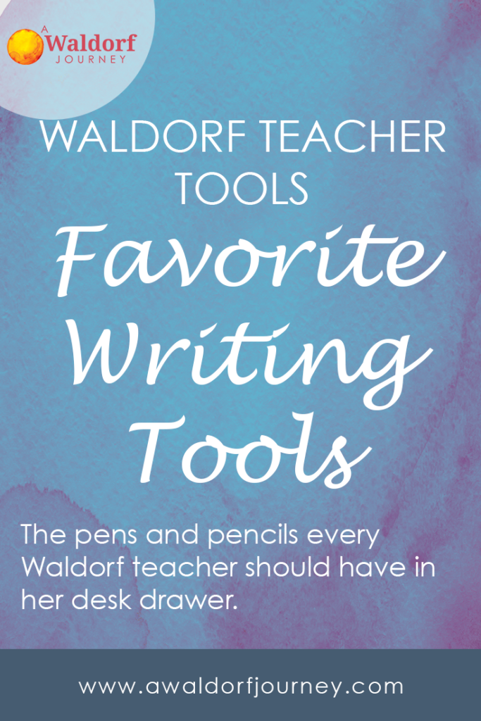 Favorite Tools for Writing