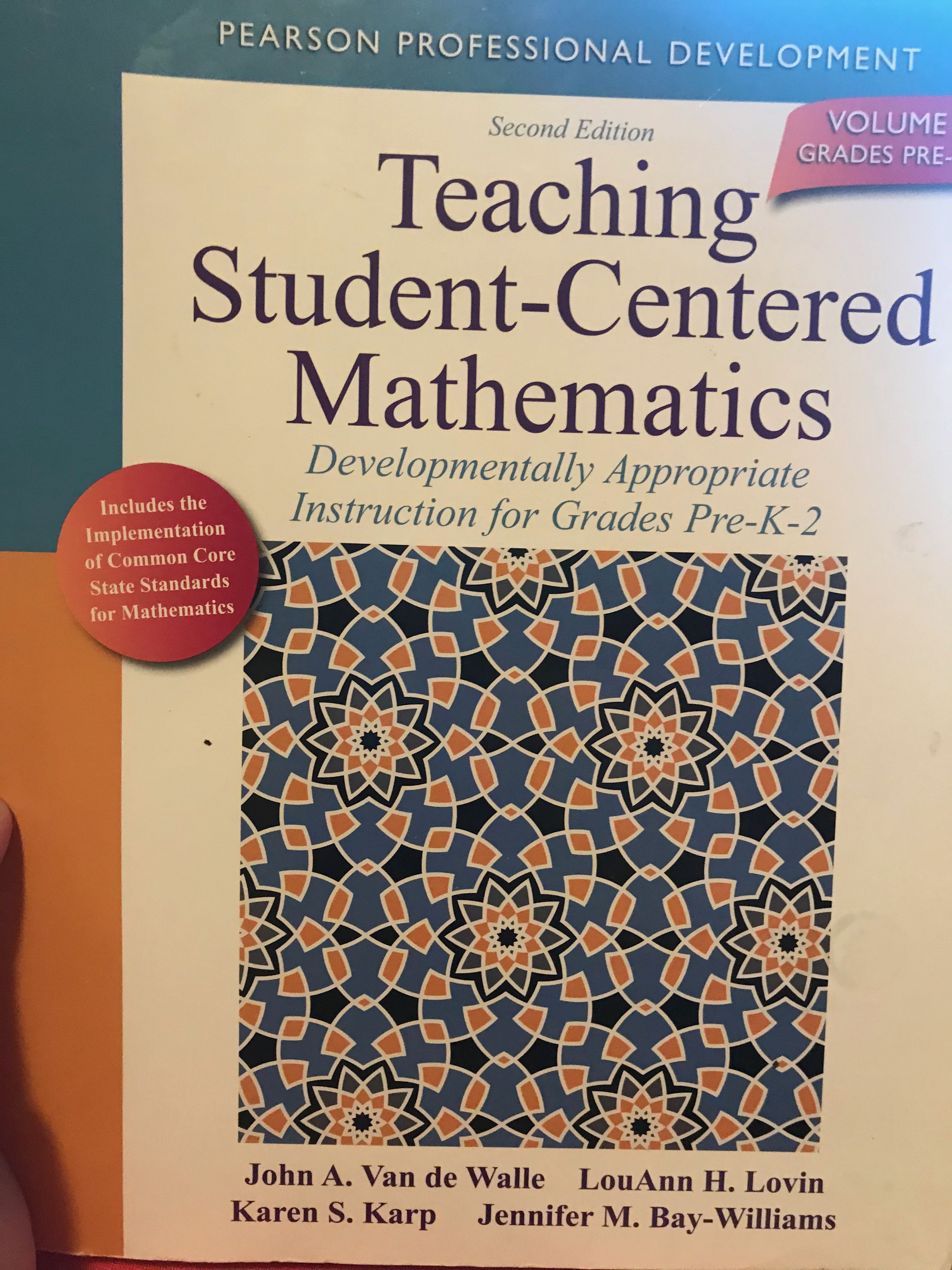 Math archives a waldorf journey the primary resource ive been using for this preparation is teaching student centered mathematics developmentally appropriate instruction for grades fandeluxe Images